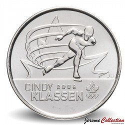 CANADA - PIECE de 25 CENTS - Salt Lake City - Cindy Klassen - 2009 Km#1065