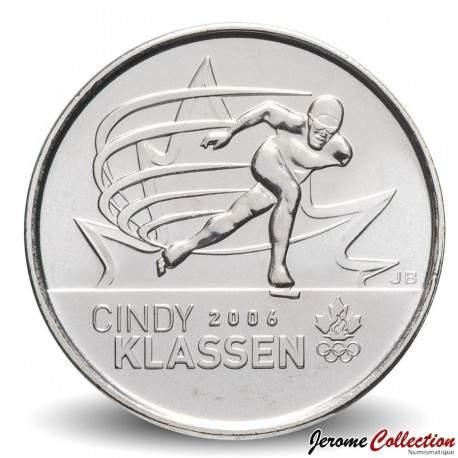 CANADA - PIECE de 25 CENTS - Salt Lake City - Cindy Klassen - 2009 Km#1065