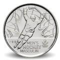 CANADA - PIECE de 25 CENTS - Salt Lake City - Hockey masculin - 2009 Km#1063