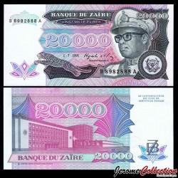ZAIRE - Billet de 20000 Zaires - 1.7.1991