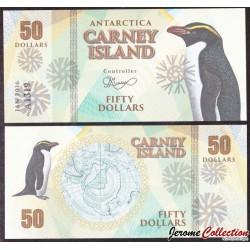 CARNEY ISLAND / ANTARCTIQUE - Billet de 50 DOLLARS - 2016 0050
