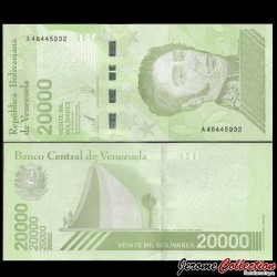 VENEZUELA - Billet de 20000 Bolivares - 22.01.2019 P110a