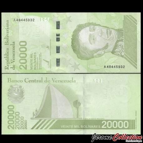 VENEZUELA - Billet de 20000 Bolivares - 22.01.2019
