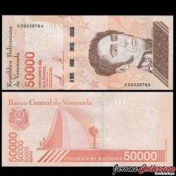 VENEZUELA - Billet de 50000 Bolivares - 22.01.2019 P111a