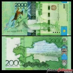 KAZAKHSTAN - Billet de 2000 Tenge - Kazakh Eli - 2012 / 2020 P41c