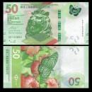 HONG KONG - HSBC - Billet de 50 DOLLARS - Papillon - 2018