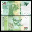 HONG KONG - Bank Of China (Hong Kong) Ltd - Billet de 50 DOLLARS - Papillon - 2018