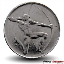 SAINT-MARIN - PIECE de 100 Lires - XXII jeux olympique - 1980