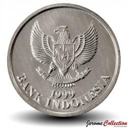 INDONESIE - PIECE de 100 Rupiah - Un cacatoès noir - 1999