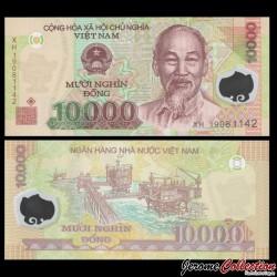 VIETNAM - Billet de 10000 Dong - Polymer - 2009