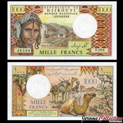 DJIBOUTI - Billet de 1000 Francs - 2005 P37e