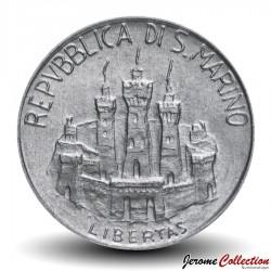 SAINT-MARIN - PIECE de 1 Lire - Hippocrate - 1984