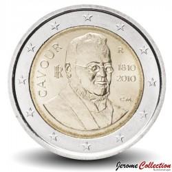 ITALIE - PIECE de 2 EURO - Comte de Cavour - 2010 Km#328