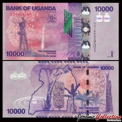 OUGANDA - Billet de 10000 Shillings - 2013 P52c