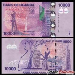 OUGANDA - Billet de 10000 Shillings - 2015
