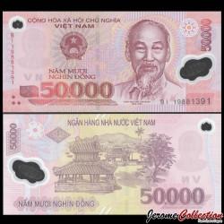 VIETNAM - Billet de 50000 Dong - Polymer - 2019