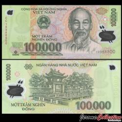 VIETNAM - Billet de 100000 Dong - Polymer - 2019