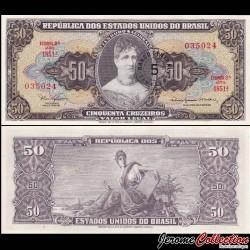 BRESIL - Billet de 5 Centavos - Princesse Isabel - 1967 P184b