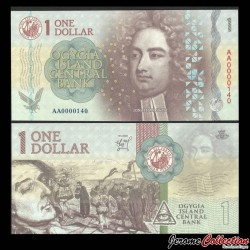 Ogygie - Billet de 1 Dollar - Jonathan Swift - 2019