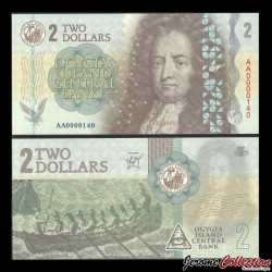 Ogygie - Billet de 2 Dollars - Daniel Defoe - 2019