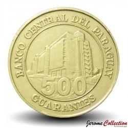 PARAGUAY - PIECE de 500 Guaranies - Général Bernardino Caballero - 2002