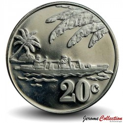 TOKELAU - PIECE de 20 Cents - 2012 Km#New