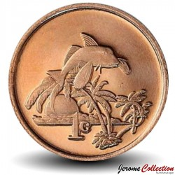 TOKELAU - PIECE de 1 Cent - 2012