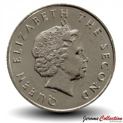 CARAIBE ORIENTALE - PIECE de 25 Cents - Bateau