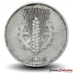 ALLEMAGNE DE L'EST / DDR / RDA - PIECE de 5 pfennig - 1949