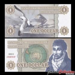 BOUVET ISLAND - Billet de 1 DOLLAR - 2014 0001
