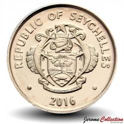 SEYCHELLES - PIECE de 5 Cents - Escargot Noir - 2016