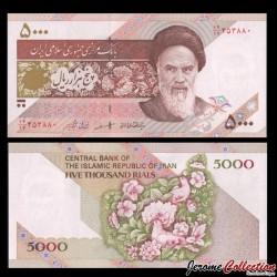 IRAN - Billet de 5000 Rials - 2003 P145e
