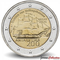 ESTONIE - PIECE de 2 Euro - Antarctique - 2020