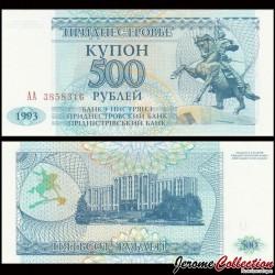 TRANSNISTRIE - Billet de 500 Roubles - 1993 P22a