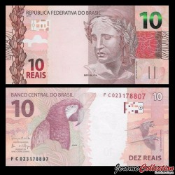 BRESIL - Billet de 10 Reais - 2010 P254c