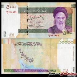IRAN - Billet de 50000 Rials - 2018