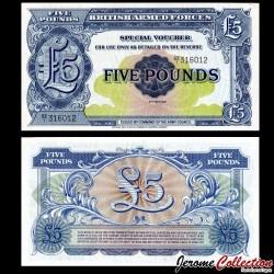 ROYAUME UNI / ARMEE - Billet de 5 Pounds - 1948 P-M23