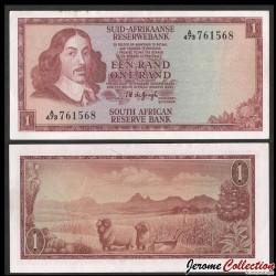 AFRIQUE DU SUD - Billet de 5 Rand - 1972