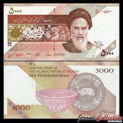 IRAN - Billet de 5000 Rials - Poterie de Zabol - 2015