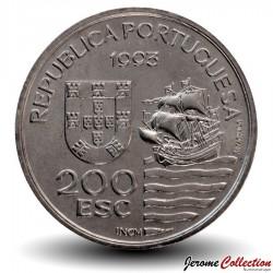 PORTUGAL - PIECE de 200 Escudos - Daïmios de Omura - 1993