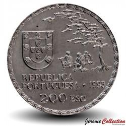 PORTUGAL - PIECE de 200 Escudos - Art namban - 1993