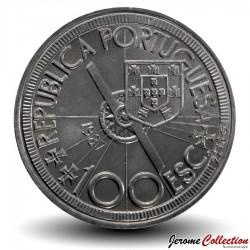PORTUGAL - PIECE de 100 Escudos - Diogo Cao - 1987