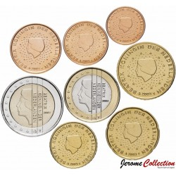 PAYS-BAS - SET / LOT de SET / LOT de 8 PIECES de 1 2 5 10 20 50 Cents 1 2 Euro - 2003 Km#234 235 236 237 238 239 240 241