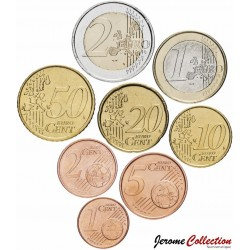 PAYS-BAS - SET / LOT de SET / LOT de 8 PIECES de 1 2 5 10 20 50 Cents 1 2 Euro - 2003