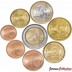 PORTUGAL - SET / LOT de SET / LOT de 8 PIECES de 1 2 5 10 20 50 Cents 1 2 Euro - 2002 / 2003