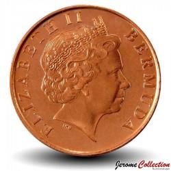 BERMUDES - PIECE de 1 Cent - Petit Sanglier - 2000