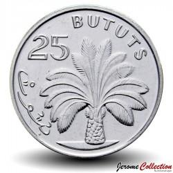 GAMBIE - PIECE de 25 Bututs - Palmier à huile - 2014 Km#57a