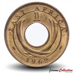 AFRIQUE ORIENTALE BRITANNIQUE - PIECE de 1 cent - 1962 Km#35