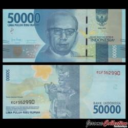 INDONESIE - Billet de 50000 Rupiah - 2018