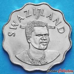SWAZILAND - PIECE de 20 Cents - Mswati III - 2000
